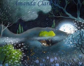 Fields of Jade, art print by Amanda Clark