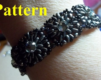 Two Hip to be Squared Bracelet PDF Tutorial (INSTANT DOWNLOAD)
