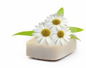 Chamomile Essential Oil Soaps - Organic Soaps - Vegan Soaps - Aromatherapy Soaps - All Natural Soaps - Bath And Beauty