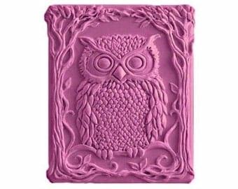 Owl Soap - Vegan Soaps - Organic Soaps -  Decorative Soaps -  Glycerin Soap - Natural Soap - Moisturizing  -  Fragrance Oil Plumeria