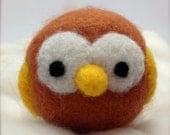 On Hold for Tara - Sweetie Pie Needle Felted Amigurumi Owls