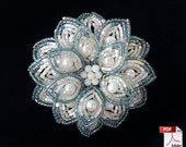 French Beaded Brooch- Tutorial