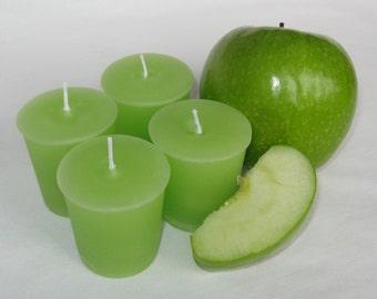 GREEN  APPLE (4 votives or 4-oz soy jar candle)