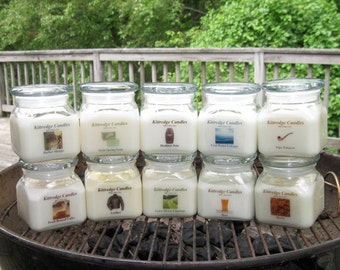 DAD COLLECTION: One 10-oz Soy Jar Candle (15% discount)