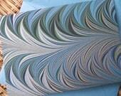 4 Bar Note Cards - Crepaldi -Blue - Set of 10