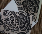 Paisley Note Cards (Set of 10) with Matching Lined Envelopes