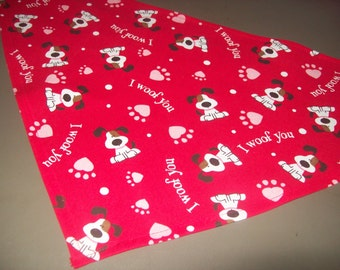 Valentine's Dog Bandana