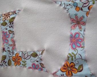 Soft Fleece Monnagrammed Pet Blanket - Large, Small