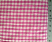 Wee Wovens Pink Check, Gingham by Moda Fabrics - 1 yard listing