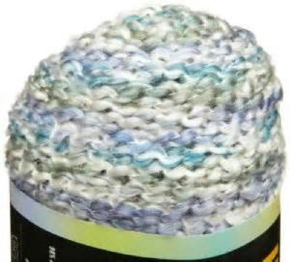 Homespun Yarn : lion brand homespun yarn 406 OCEAN white blue green purple 6 ounces ...