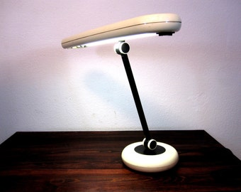 Vintage Park Sherman Modern Desk Lamp / Eames Era Table Lamp