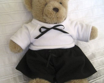 Teddy Bear Clothes, Blake Top, Skirt & Pants Set