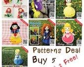 Pattern Deal - Princesses Set Buy 5 Get 2 Free