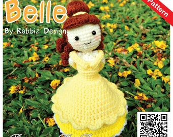 PDF Pattern - Amigurumi Princess Belle Pattern