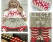 ANIKA Rabbit / Bunny Toy Knitting Pattern / Lapland Visitors Part 2/ Pdf / Plus Free Handmade Shoes Knitting Pattern/ INSTANT Download