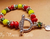 LUX RASTA Red Yellow Green Bracelet