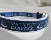 Vancouver Canucks Cat  or Small Dog Collar