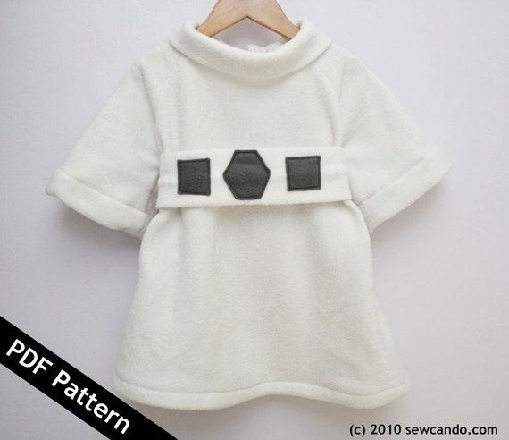 Space Princess Gown PDF Pattern