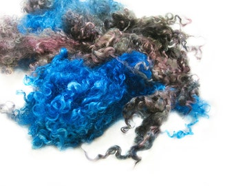 Winterfell - Hand Dyed Wensleydale Lamb Locks