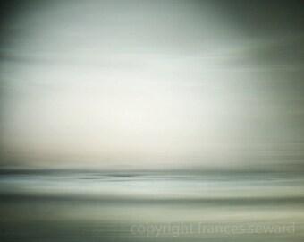 Morning Sea.  Fine Art Photograph. Abstract Landscape Photo. Giclee. Fine Art Paper