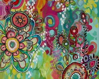 Miss Ariel - Colorful Abstract PRINT
