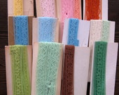 Vintage Lot of  Seam Binding, Stretch Lace - Various Colors - Lot 3