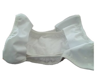 Set of 5 Cloth diaper stay dry liners, absorbent two sided, cloth diaper insert, cloth diaper liner, cloth diaper soaker