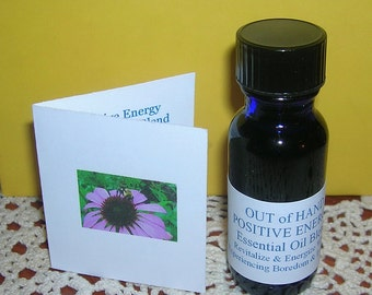 Positive Energy Essential Oil Synergy - .5 oz. - Out of Hand