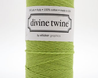 Full Spool - 240 Yards - Green - Spring - Baker's Twine