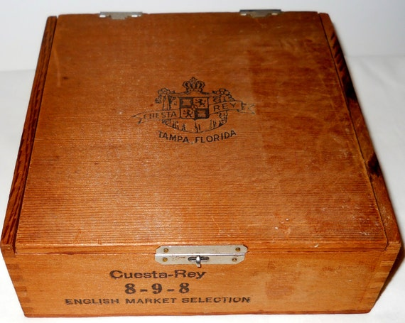 Vintage cuesta rey wooden cigar box ready for by luvvinjewels