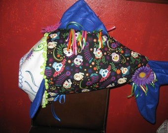 Day of the dead fish II - one size fits all