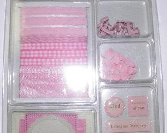 Dena's Closet Pink Embellishments