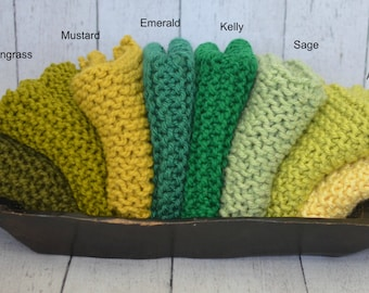 Baby Knit Mini Afghan Blankets