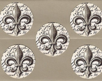 Stickers, French Style, Fleur de lis, French Stickers