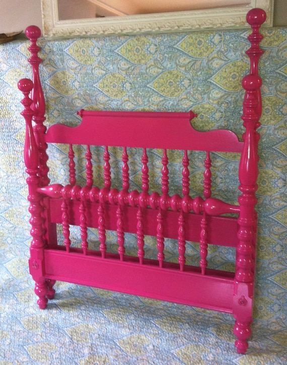 Sale Hotpink Raspberry Four Post Jenny Lind By Antique2chic