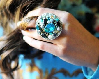 Coctail statement ring r1
