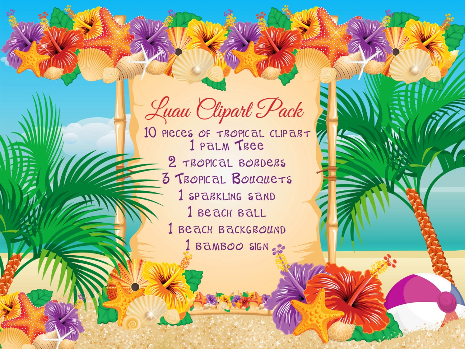 Luau Party - Easy Entertaining - ALL YOU