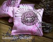 Organic Lavender Sachet  in Organic Cotton