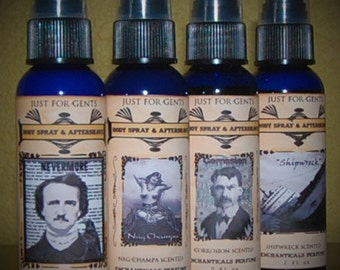 Moisturizing Body Spray and Aftershave You Pick the scent 2 fl oz