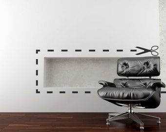 Banksy Cutter Wall Stickers