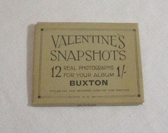 Vintage Souvenir Miniature Photos of Buxton Great Britain