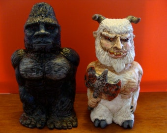 GoatMan And Bigfoot S/P shakers(standard Size)*Made To Order*