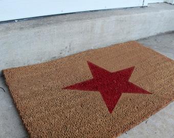 Holiday Star doormat