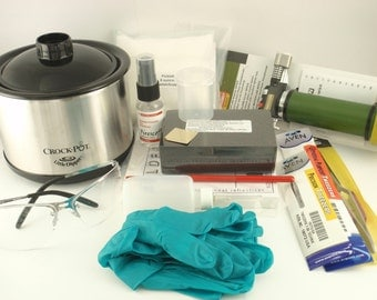 Soldering Kit for Brass -  Torch,Tweezers, Pad, Block, Non Toxic Pickle, Glasses, Gloves
