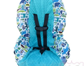 2D Zoo Pool with Teal Car Seat Cover