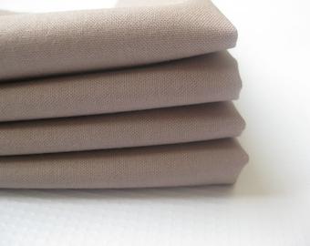 Cloth Napkins - Latte - 100% Cotton