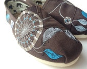 send me any shoes-Dream catchers - hand painted shoes-made to order