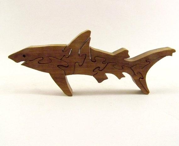 Shark Wood Puzzle