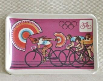 1968 Summer Olympics Pin Dish -  Summer Olympics XIX, Mexico City
