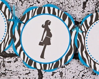 Popular items for zebra baby shower decorations on Etsy